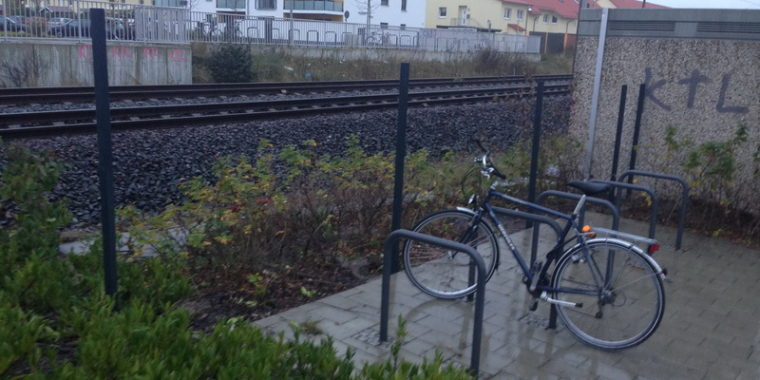 Baubeginn am Bahnhof Kaltenweide