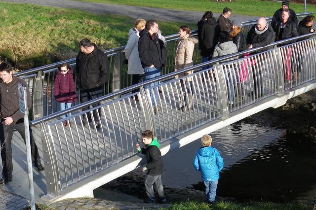 Unfallgefahr an den Brücken Mühlengraben
