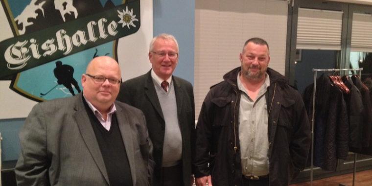 Stefan Dammann, Dieter Palm und Markus Villwock