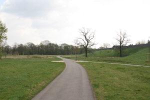 Grünanlage im Kaltenweide-Ost